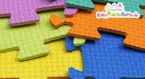 Puzzlematte aus Moosgummi Material