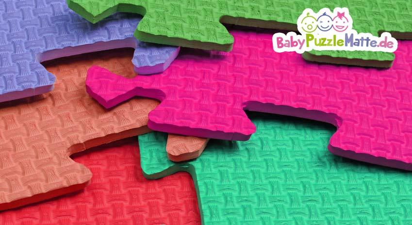 Bunte Schaumstoff Puzzlematte Teile aus EVA Schaumstoff